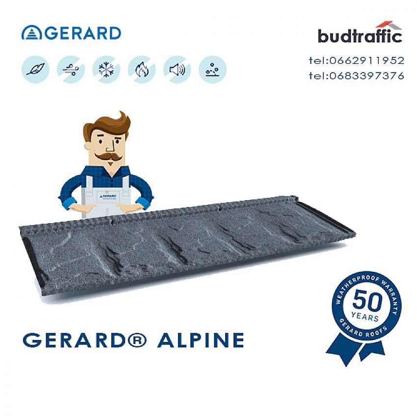 Композитна металочерепиця Gerard Alpine Луцьк ціна купити