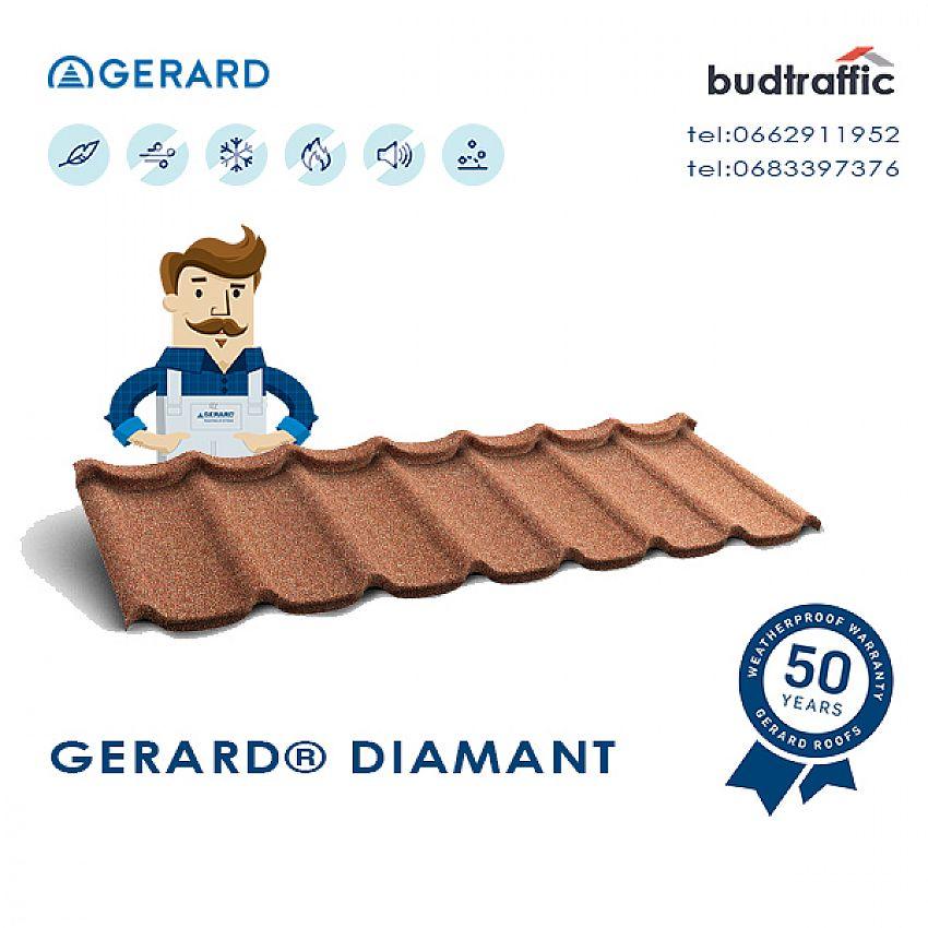 Композитна черепиця GERARD Diamant Рівне ціна купити
