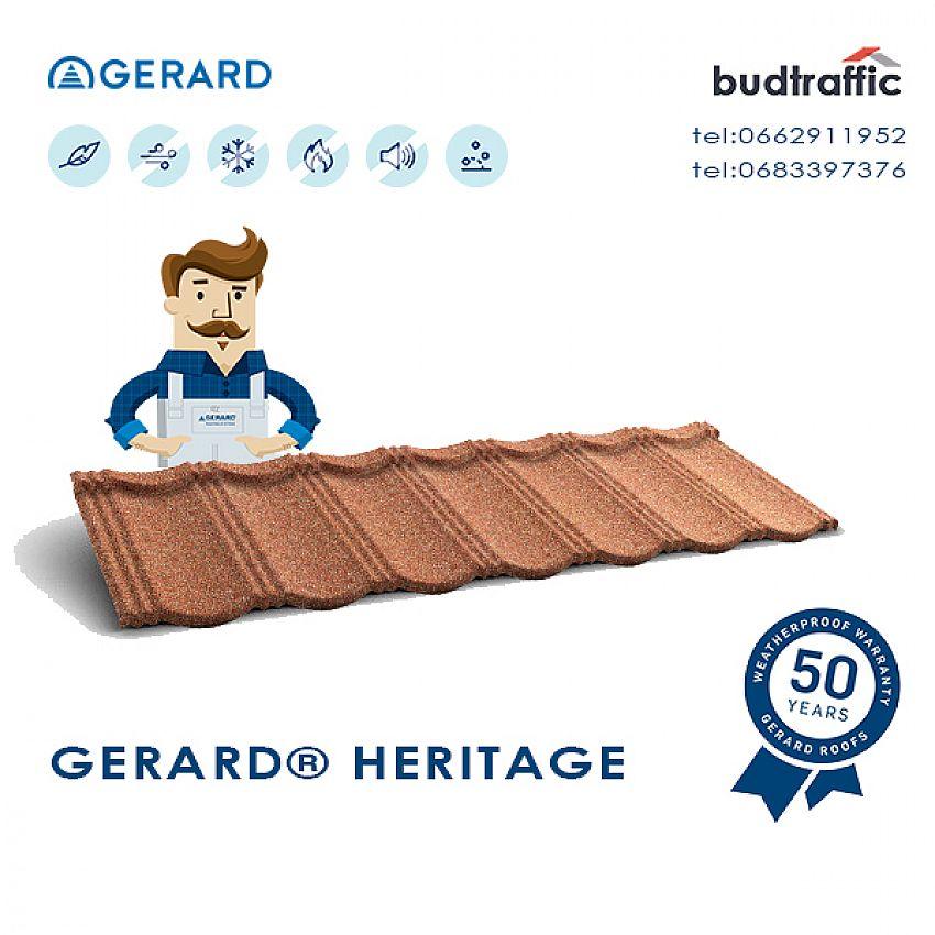 Композитна черепиця Gerard Heritage Луцьк ціна купити