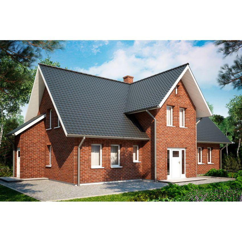 Фасадні панелі Solid Brick Regular (фасадні панелі під цеглу) Рівне ціна купити
