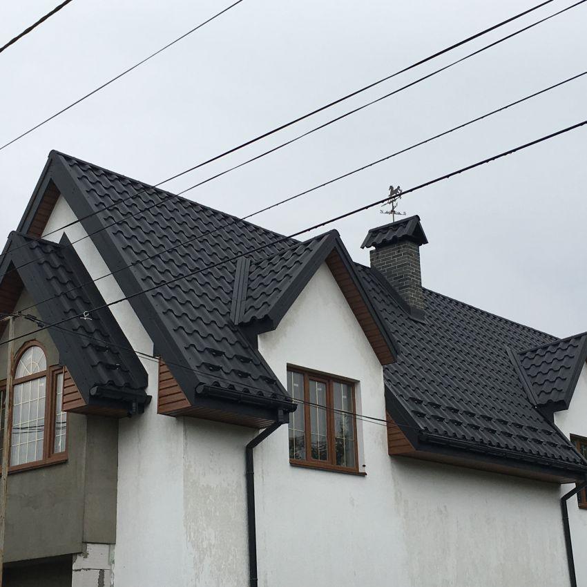 Модульна металочерепиця Альпіна Z-lock ArcelorMittal (Польща) Рівне ціна купити