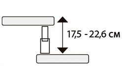 Модульні сходи TWISTER висита сходинки