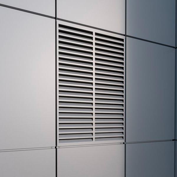 вентильована фасадна панель жалюзі