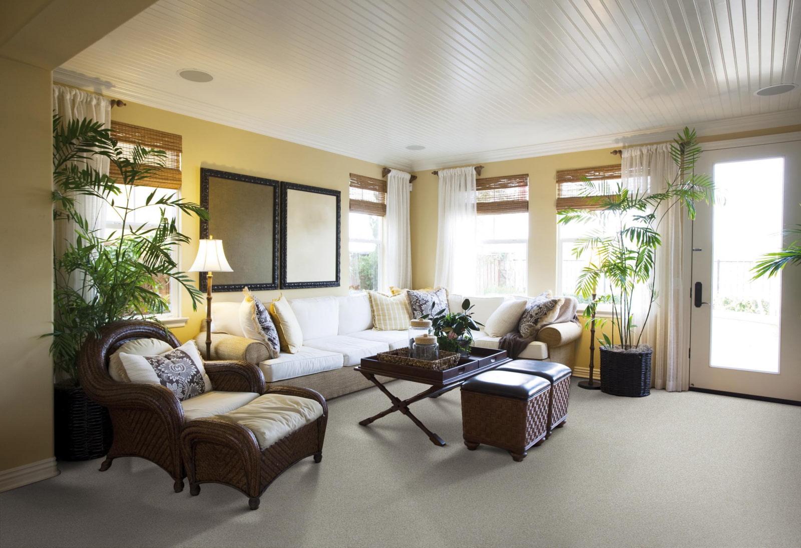 дизайн потолків вітальні